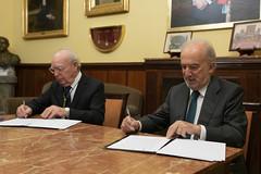 Santiago Muñoz Machado y Eduardo Díaz-Rubio