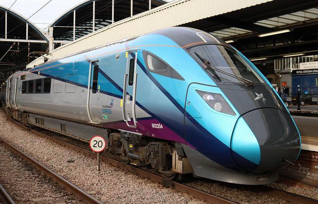 Class 802: 802204 835204 TransPennine Express Newcastle Central