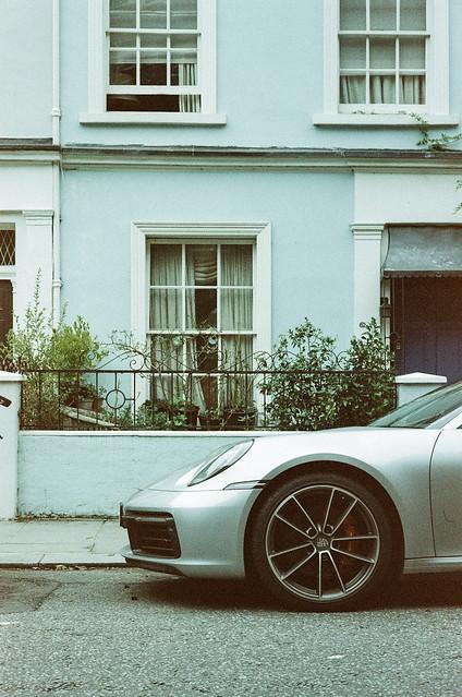 Notting Hill, London, 2021. Lomography Metropolis, Summicron 50mm asph