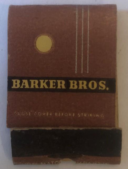 BARKER BROS. LOS ANGELES,HOLLYWOOD AND LONG BEACH (MIDGET)