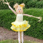 Boo-ti-ful ballerina - #BoroScarecrowFestival21