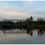 Autumn Lakes - Evening bridge