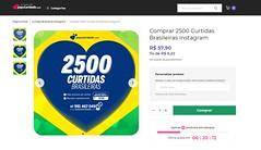 ➙ Comprar 2500 Curtidas Brasileiras Instagram