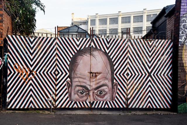 Watching..Street Art, Digbeth.