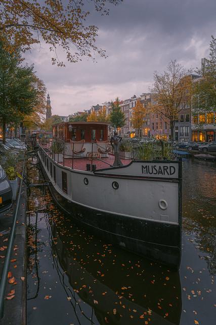 Autumn at Prinsengracht
