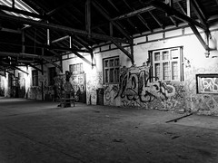 The last days of the freight terminal 06