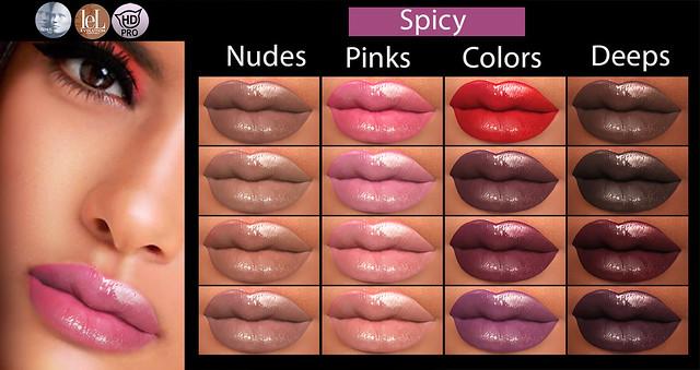 Spicy lipsticks @Dubai event