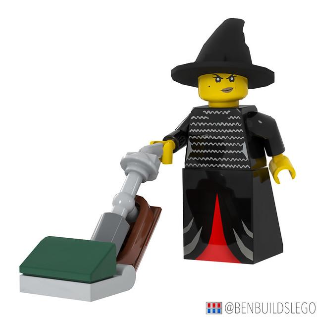 LEGO Hocus Pocus Vacuum broom [2]