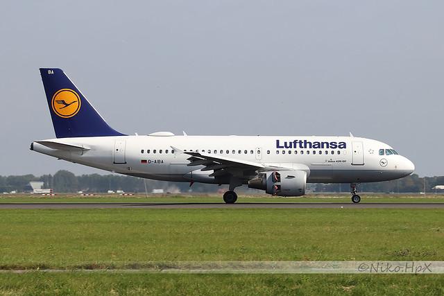 Airbus A319-112 Lufthansa D-AIBA