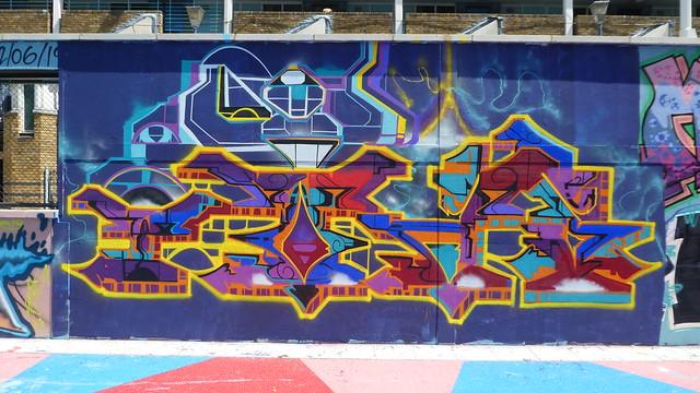 Toas graffiti, Stockwell