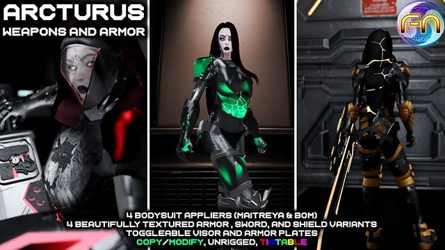 Arcturus Set Ad