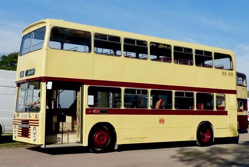 UFP 233S 'Leicester City Transport' No. 233. Dennis Dominator / East Lancs on Dennis Basford's railsroadsrunways.blogspot.co.uk'