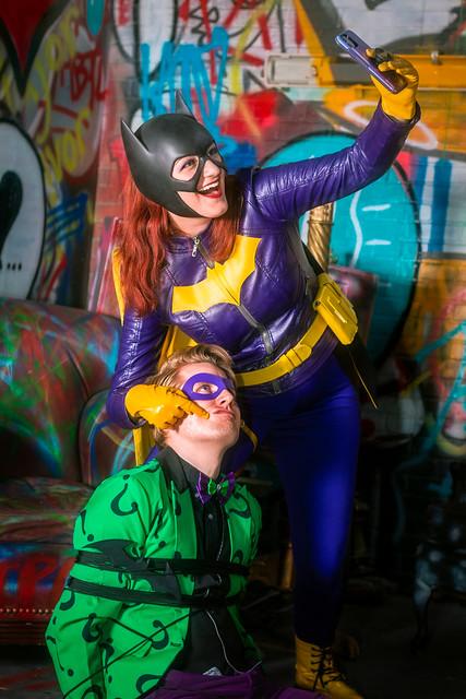 Gotham in Atlanta Photoshoot