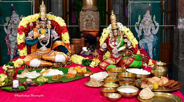@Veerabadhraswamy Temple , Mylapore .