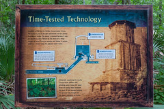 Interpretive Sign about Water Tower in Palmetto State Park