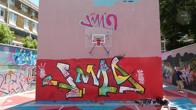Jam graffiti, Stockwell