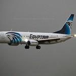 Egyptair SU-GEM Boeing 737-866 Winglets cn/63805-6614 @ EGLL / LHR 26-05-2018