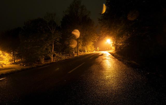 Random Sweden: Galtsjövägen (at night)