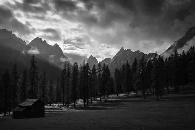 Fischlein Valley, Dolomiten, Three peaks, Italia