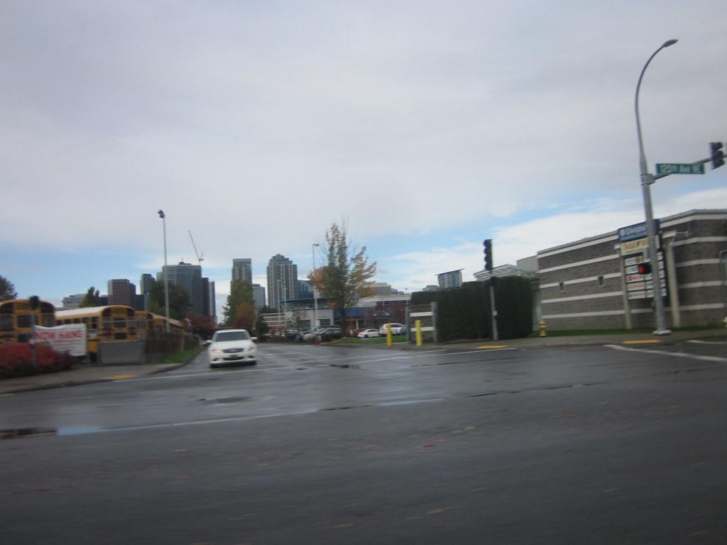 Cloudy day Bellevue