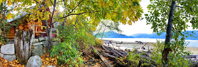 One of two Porteau Cove Olympic Legacy Cabins (+1)