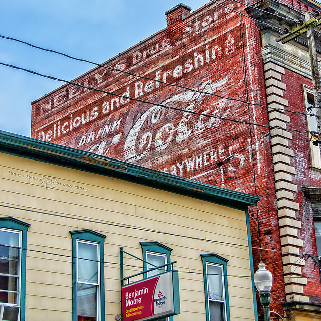 neely's drug store ghost sign