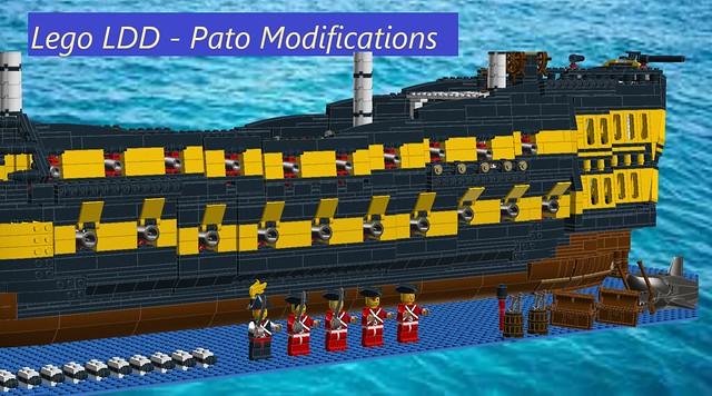 LDD - PATO Modifications - 40 Gun Ship of The Line - 14