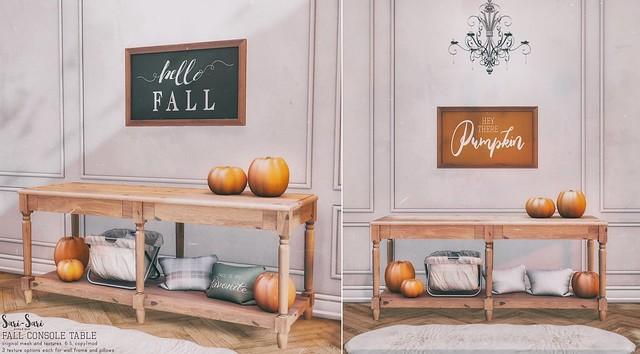 Sari-Sari - Fall Console Table
