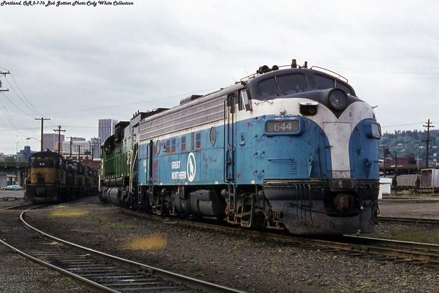 BN 644 Portland 5-7-76