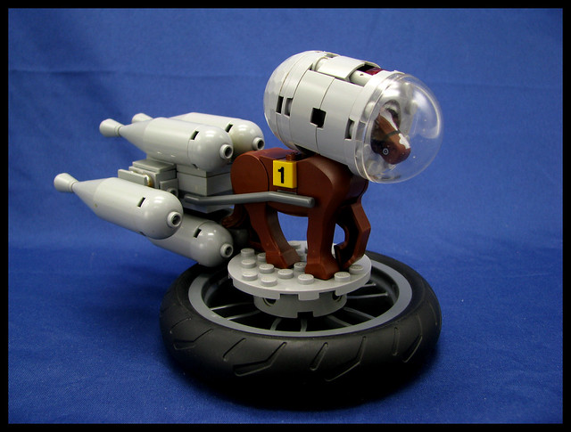 Thoroughbred Space Racehorse