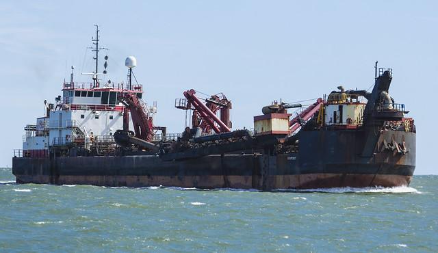 Ship in the Gulf