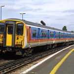 Class 455/9 5918 at Clapham Junction