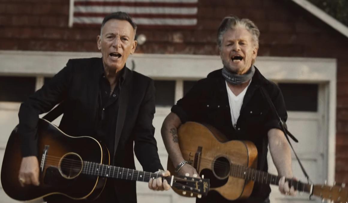 Bruce Springsteen y John Mellencamp