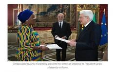 Ghanau2019s Ambassador To Italy Passes On