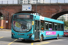 Arriva Yorkshire Castleford Based Wright Pulsar 1466(YJ62 JYH) Seen At Leeds Duke Street While Working The 401 To Pontefract 3/8/21