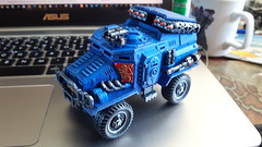 40k Taurox Prime with Missile Launcher