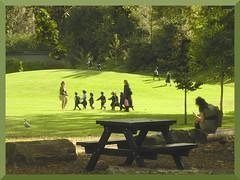 Aut Children in park