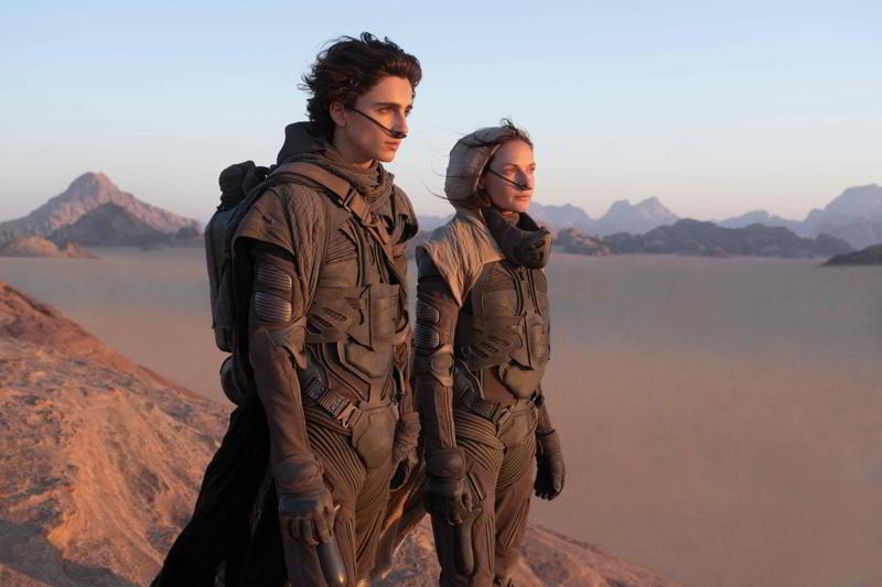 Where was Dune filmed