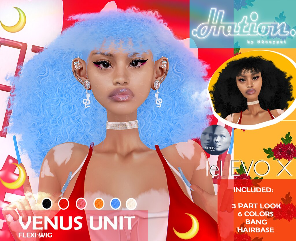 venus hair @ Mainstore