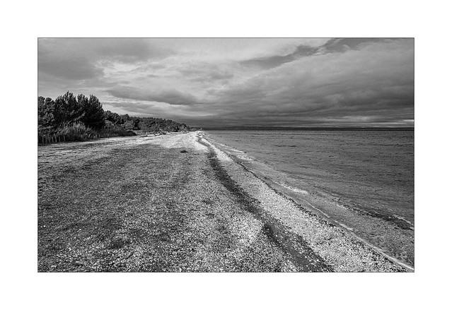 etang de Berre, plage de Figuerolles