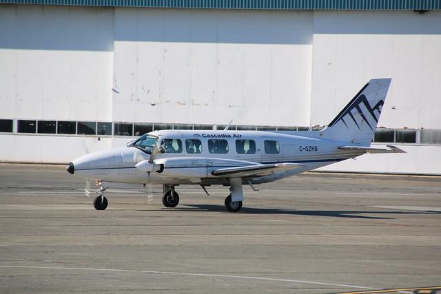 C-GZNB Cascadia PA31