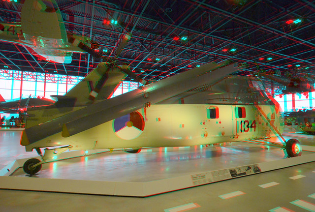 National Military Museum Soest 3D anaglyph