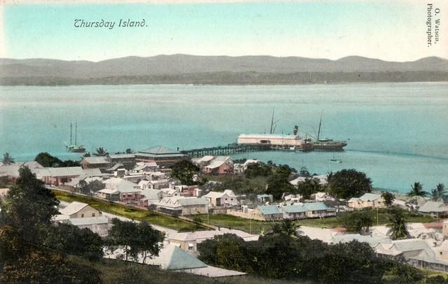 A view on Thursday Island, Qld - circa 1910s
