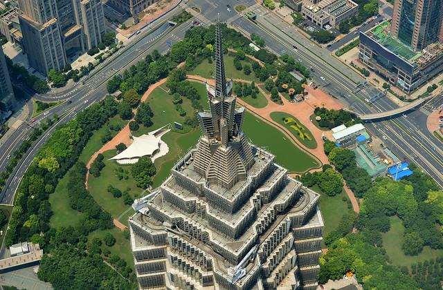Shanghai - Top of Jin Mao Tower