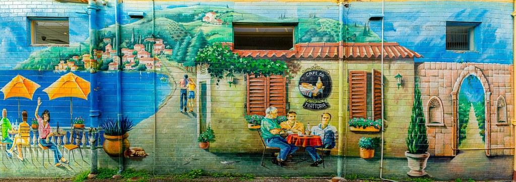 Café 66 Trattoria Mural, Port Macquarie