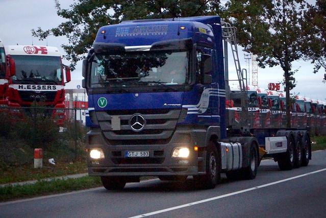 Mercedes-Benz Actros MP3 Bluetec5 1844 MegaSpace 4x2 LS (2012) - UAB Arijus Klaipėda, Lietuva (LT)