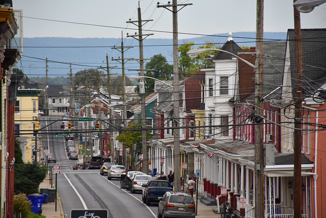 Hagerstown, Maryland - East Avenue from N. Potomac Street - October 15, 2021