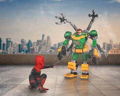 Spider-Ian vs Doc Ock LEGO