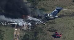 Texas, aerei precipita dopo il decollo: salvi i 21 passeggeri, uno solo ha avuto un colpo di frusta