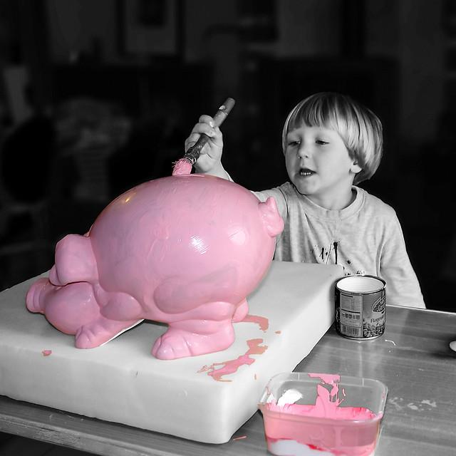 The apprentice (Painter? Banker? Butcher? ...).